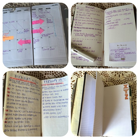 planner pages