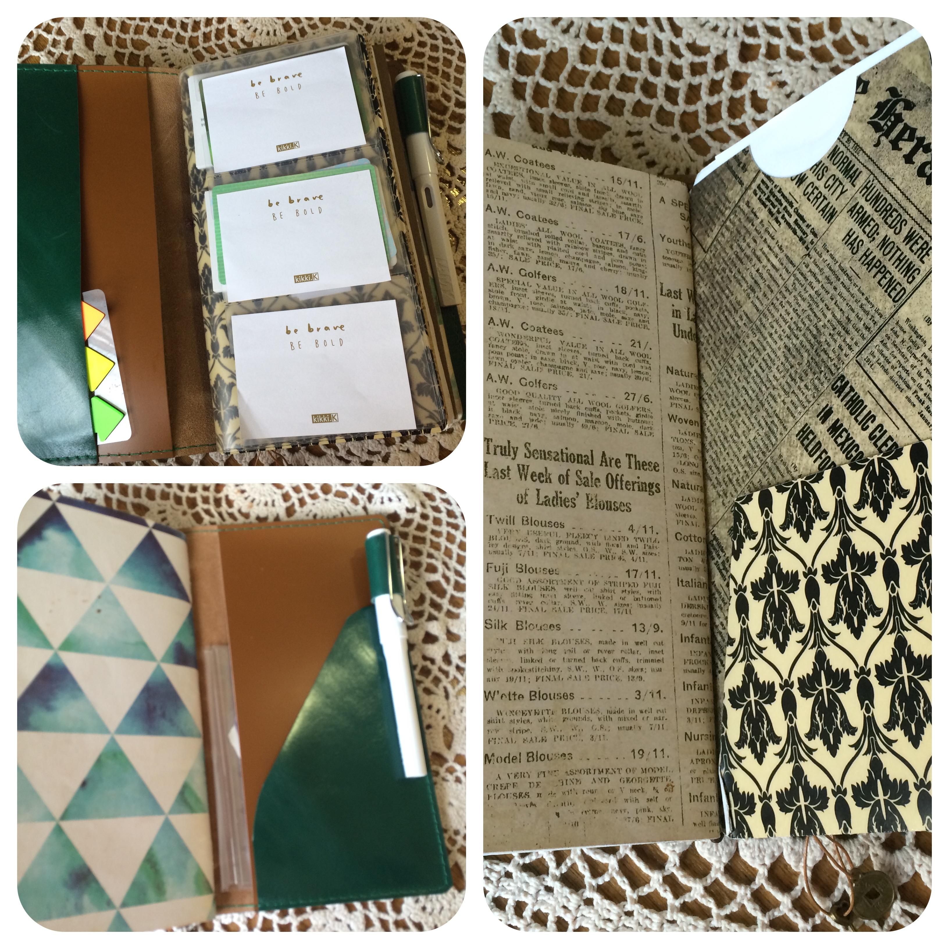 planner and folder